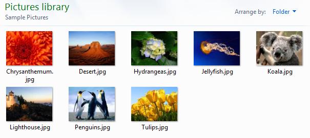 default pics